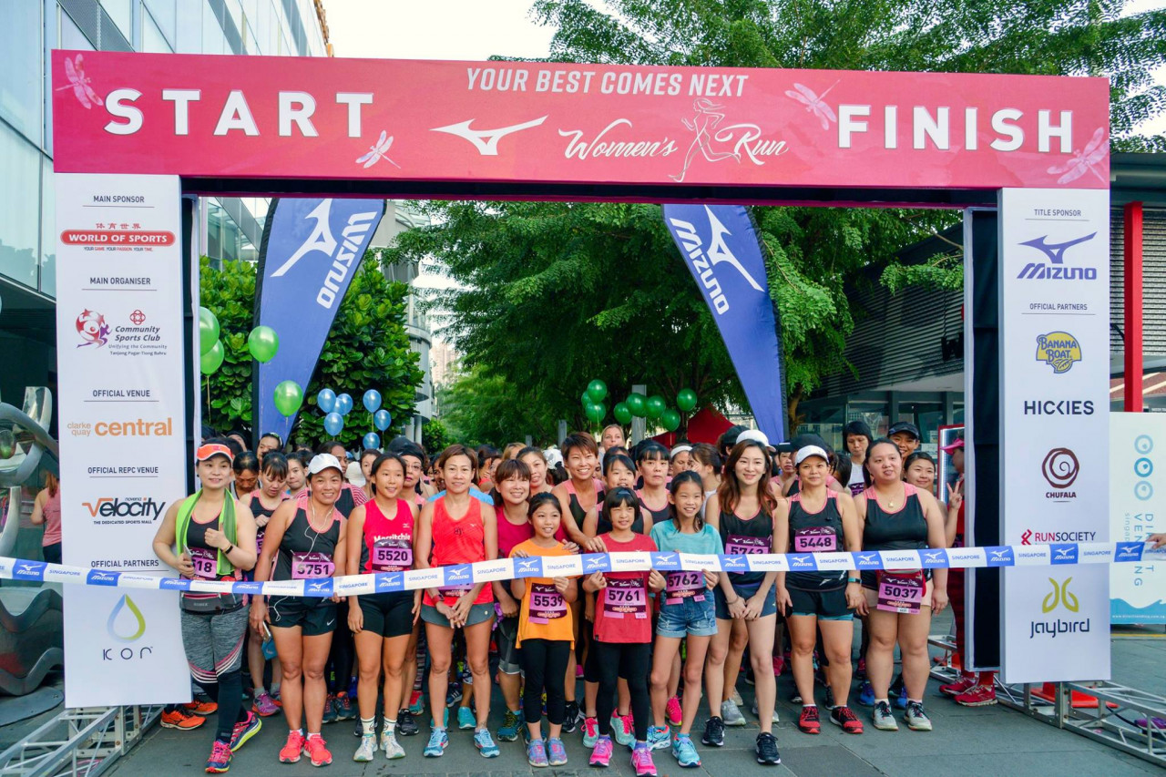 Mizuno Women's Run