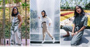 OOTD shots at Jewel Changi