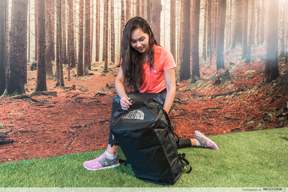 the north face backpack outdoor venture warehouse sale