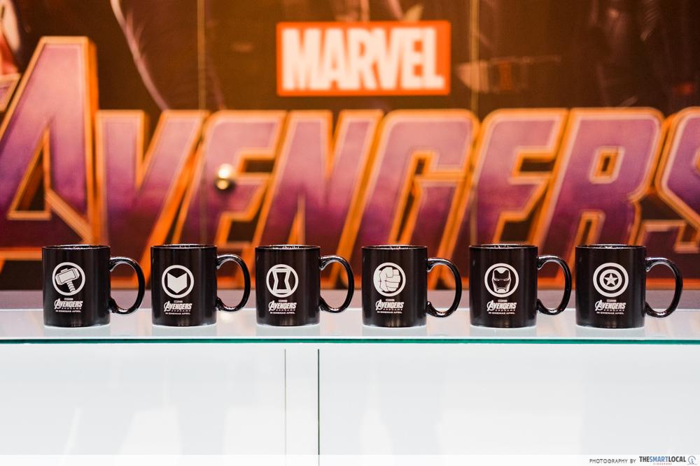 Avengers Endgame mugs