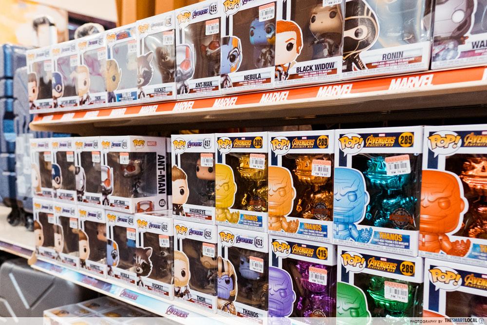 Avengers Endgame Pop toys