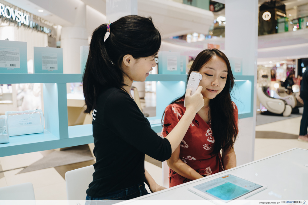 LANEIGE Pop-up event 2019 - free skin analysis