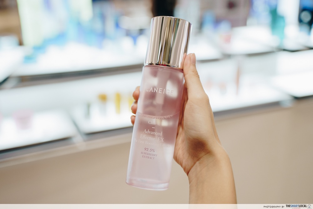 LANEIGE Pop-up event 2019 - Clear C Advanced Effector_EX
