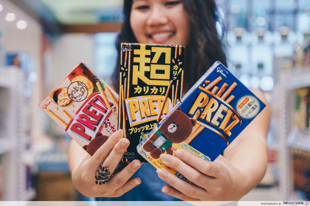 J-Mart's Pretz snack comes in new flavours