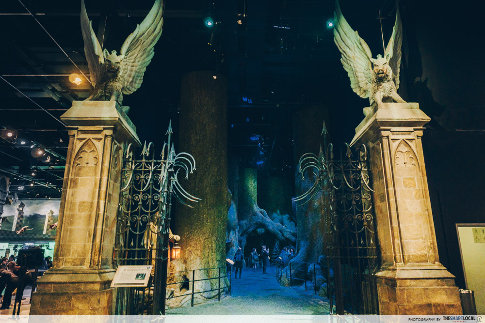 Harry Potter Studio Tour - The Forbidden Forest