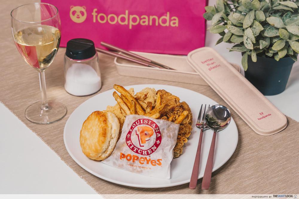foodpanda - fried chicken delivery