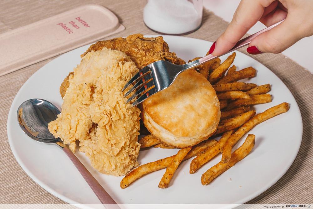 Fried chicken - Popeyes