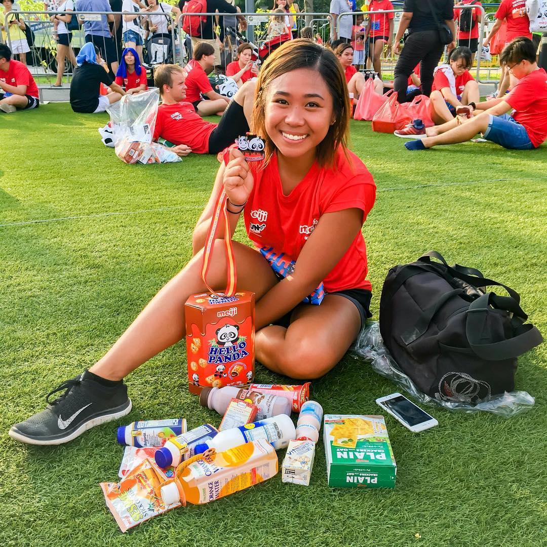 10km competitive cashback run - Meiji Run 2019
