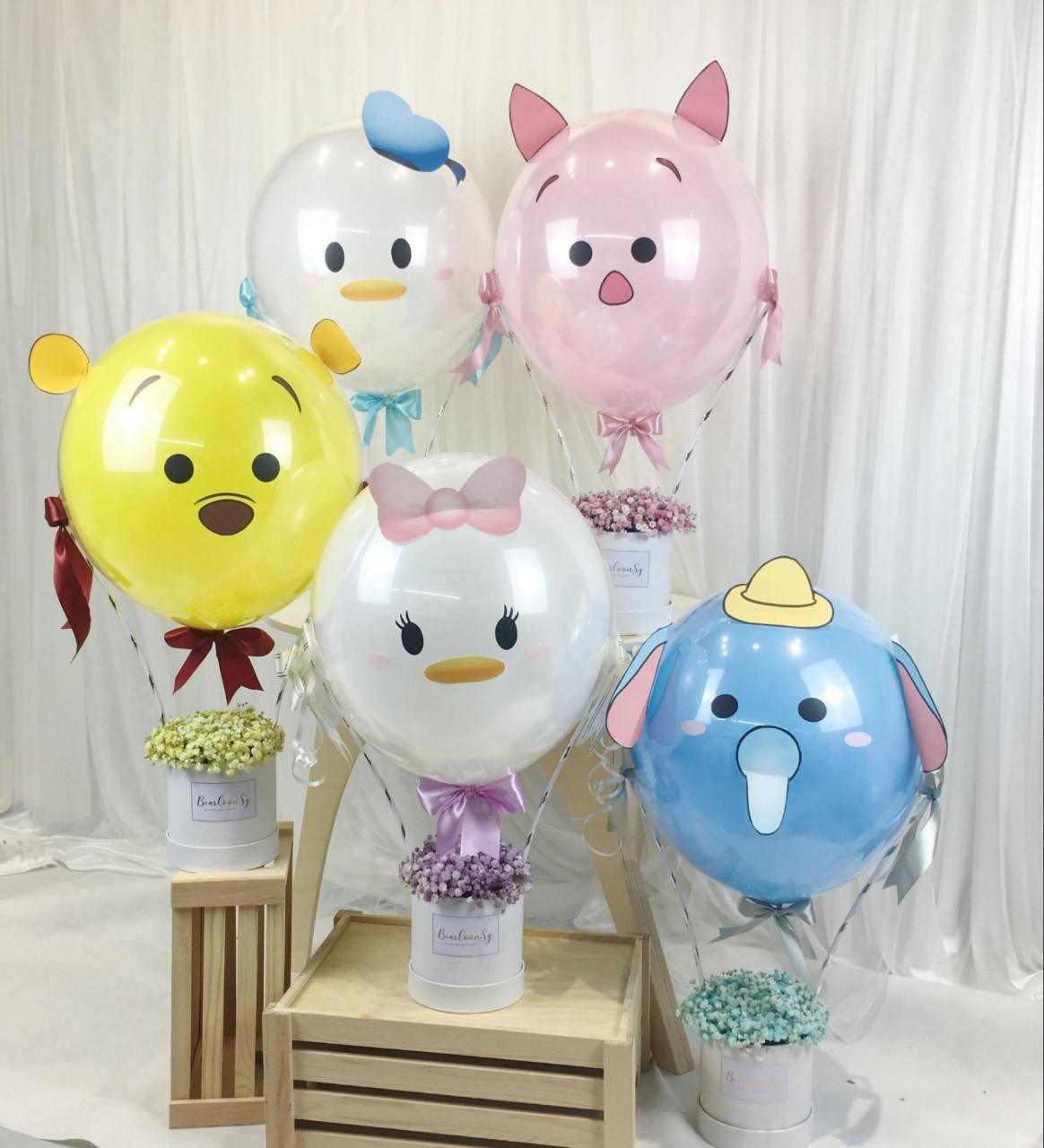 Bearloon cartoon balloons