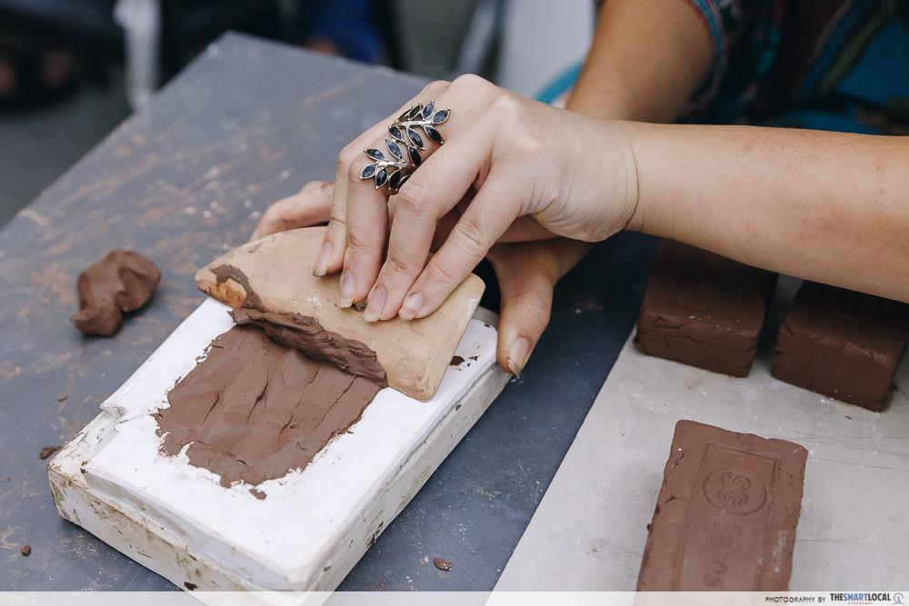sg cares brick moulding lesson