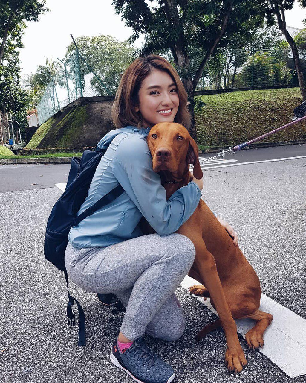 mediacorp actress hong ling