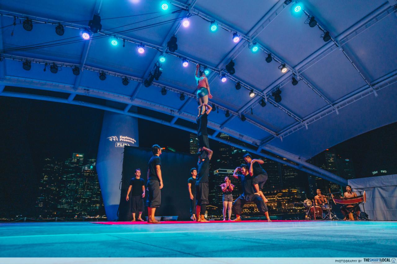 bornfire circus singapore esplanade