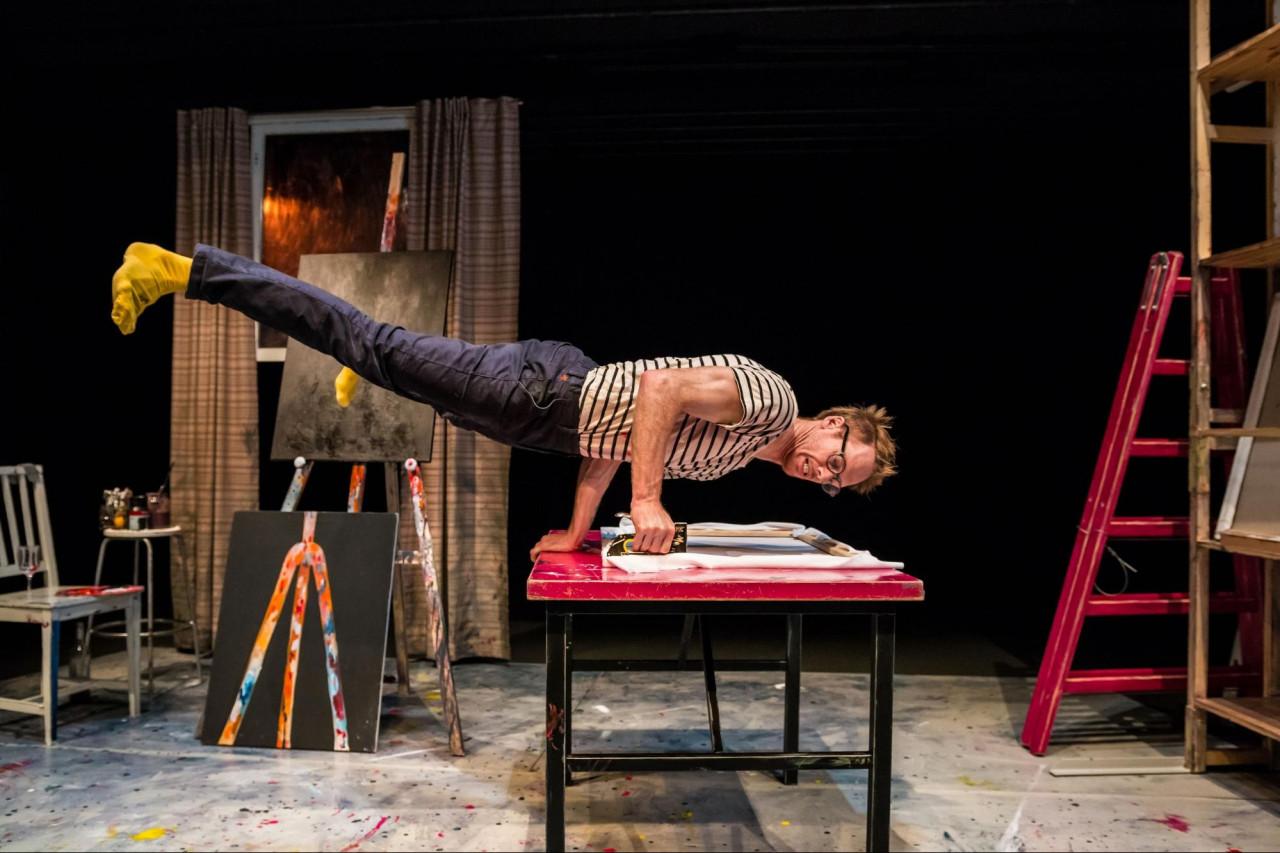 the artist circo aereo