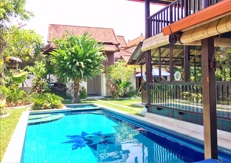 bali villas with private pool cheap coconut spring