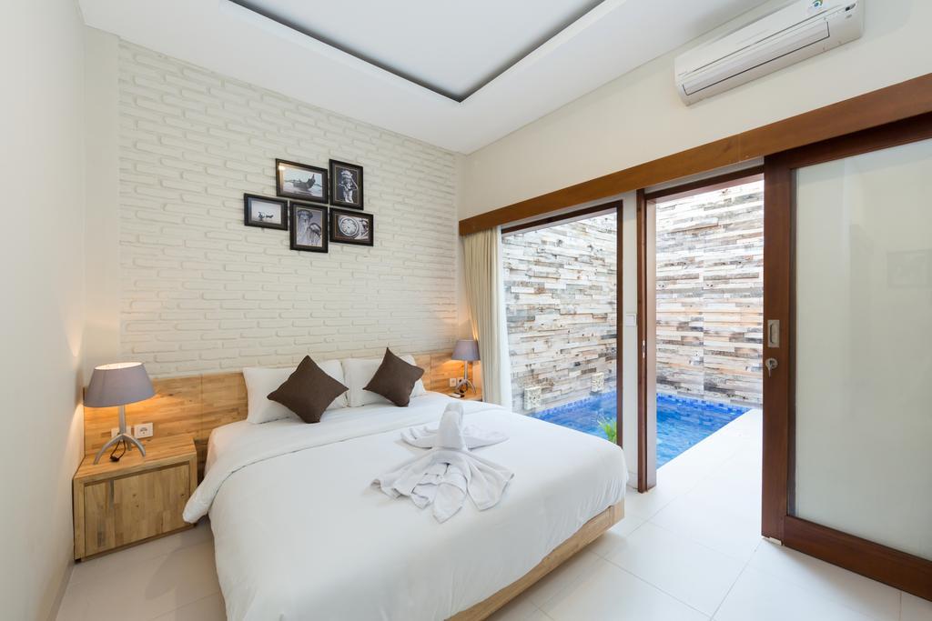 bali villas with private pool cheap paisa seminyak living