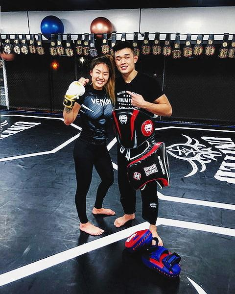 angela lee christian lee mma