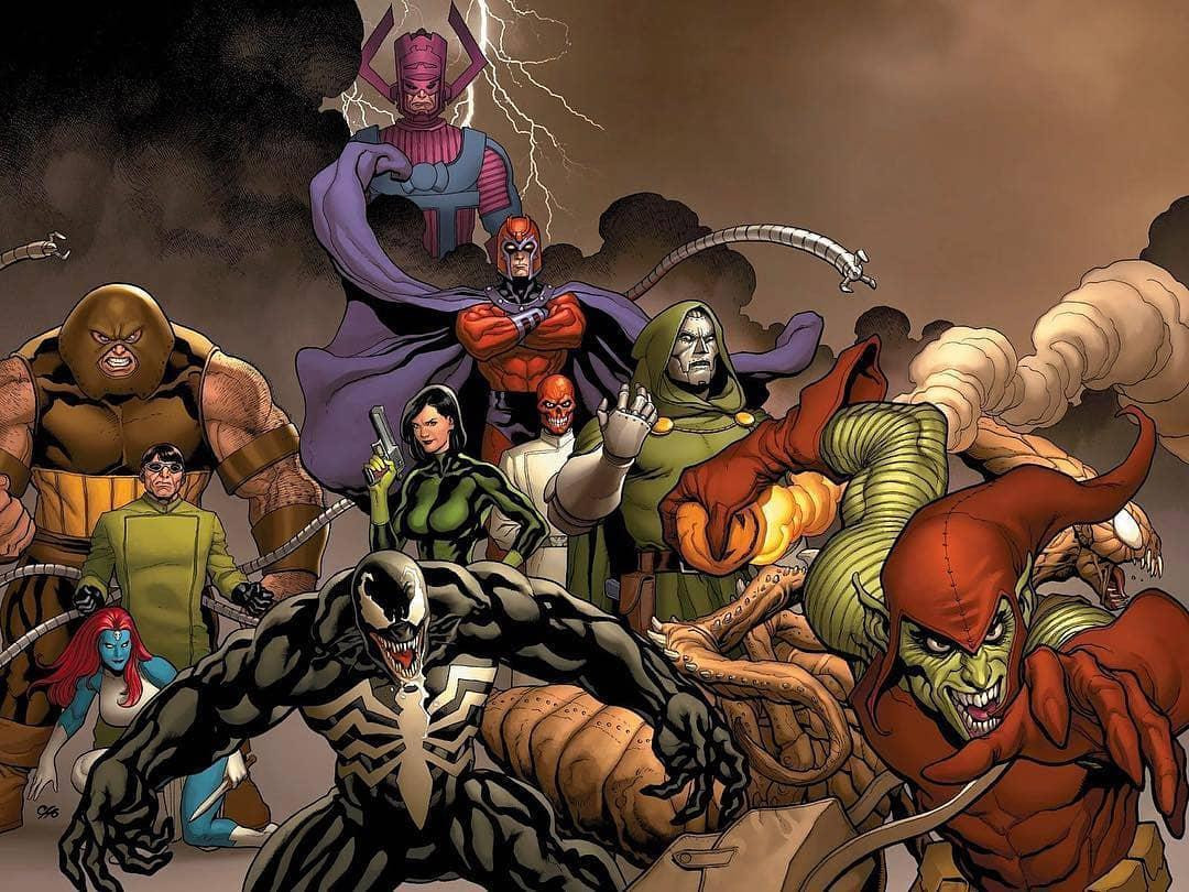 Marvel villains talk