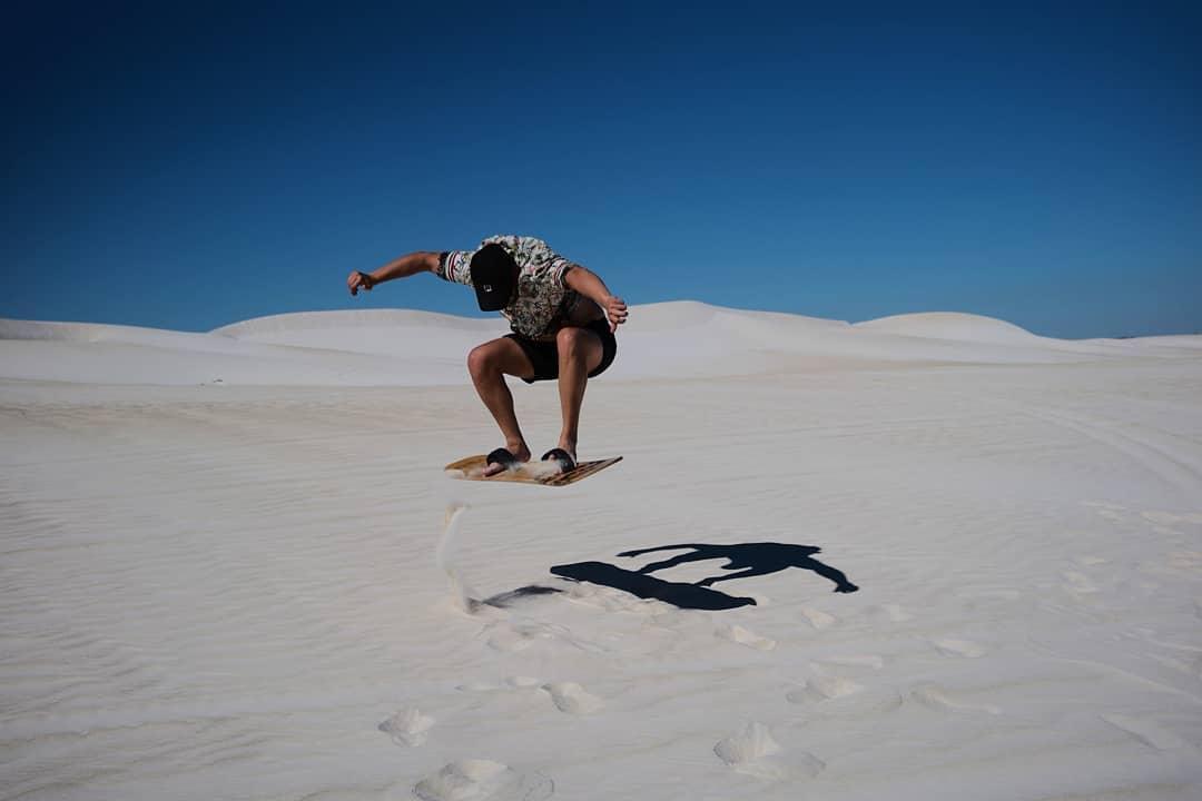 Lancelin - sandboarding