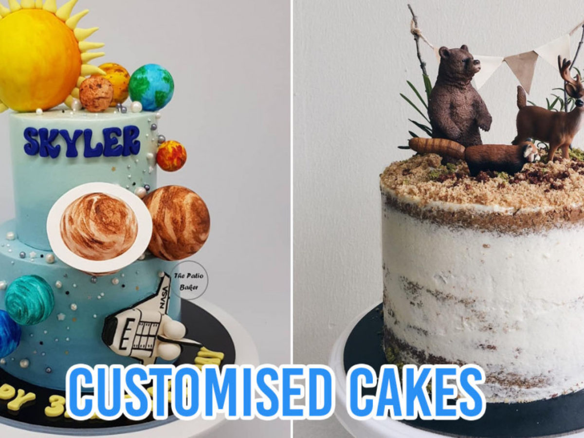 10 Home Bakers In Singapore For Customised Birthday Cakes With One Of A Kind Designs