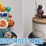 customised birthday cakes home baker singapore