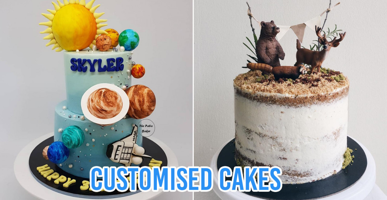 customised birthday cakes home baker singapore
