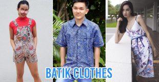 Batik clothes cover