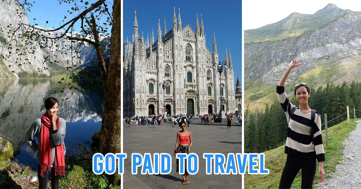 Collage of travel photos in Europe