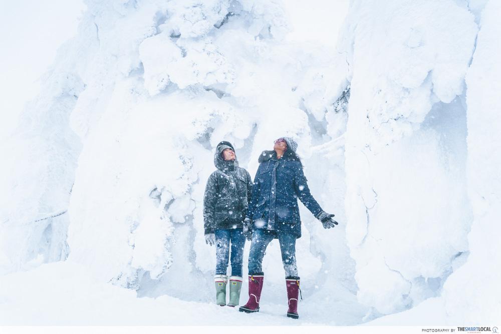 ani ski resort snow monsters