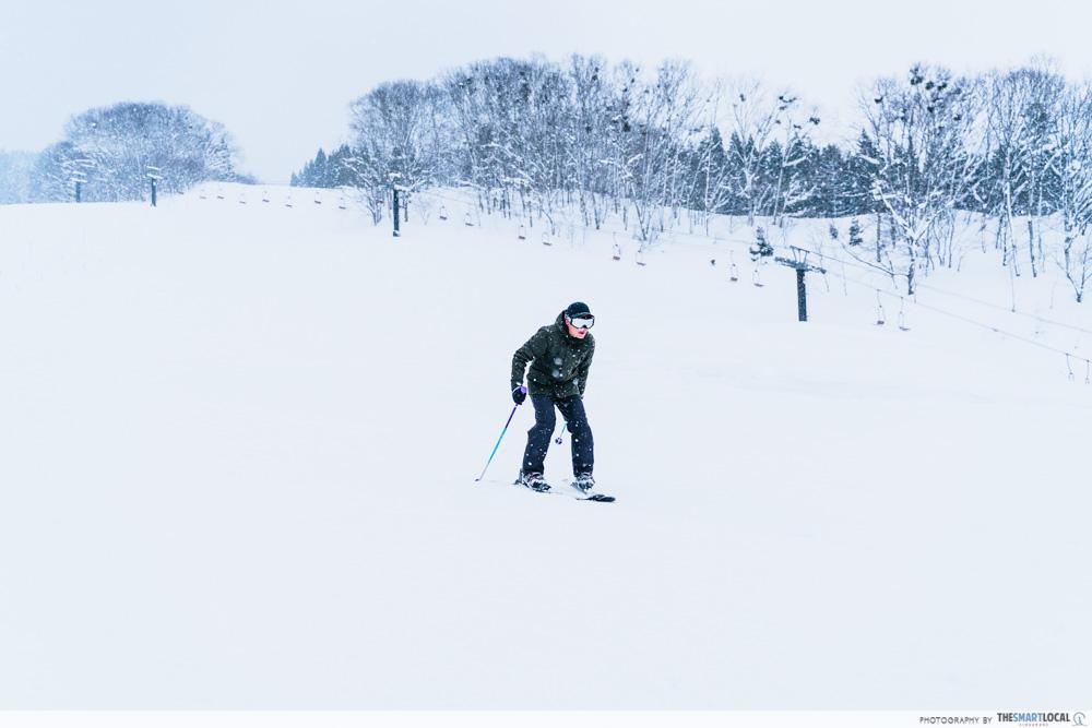 ani ski resort skiing