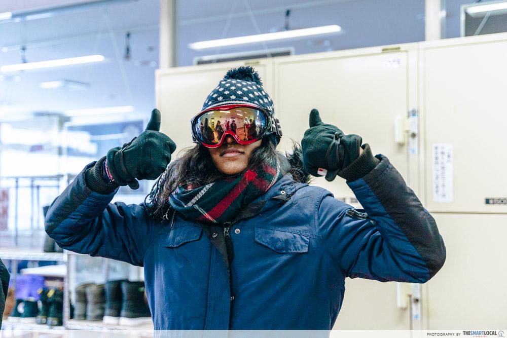ani ski resort skiing gear