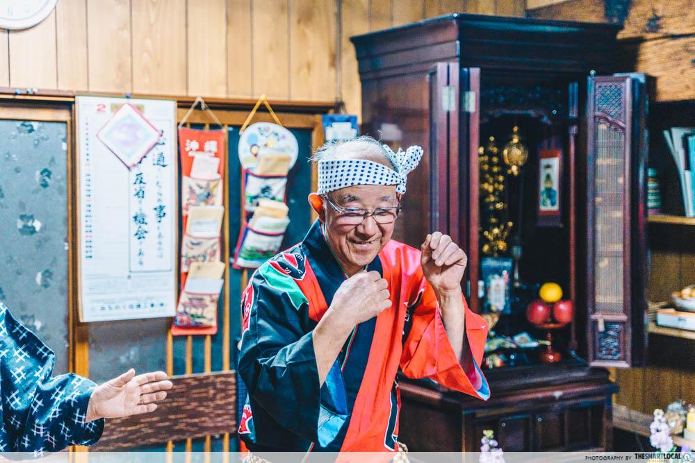 sakakoshimai farmstay akita yamauchi-san