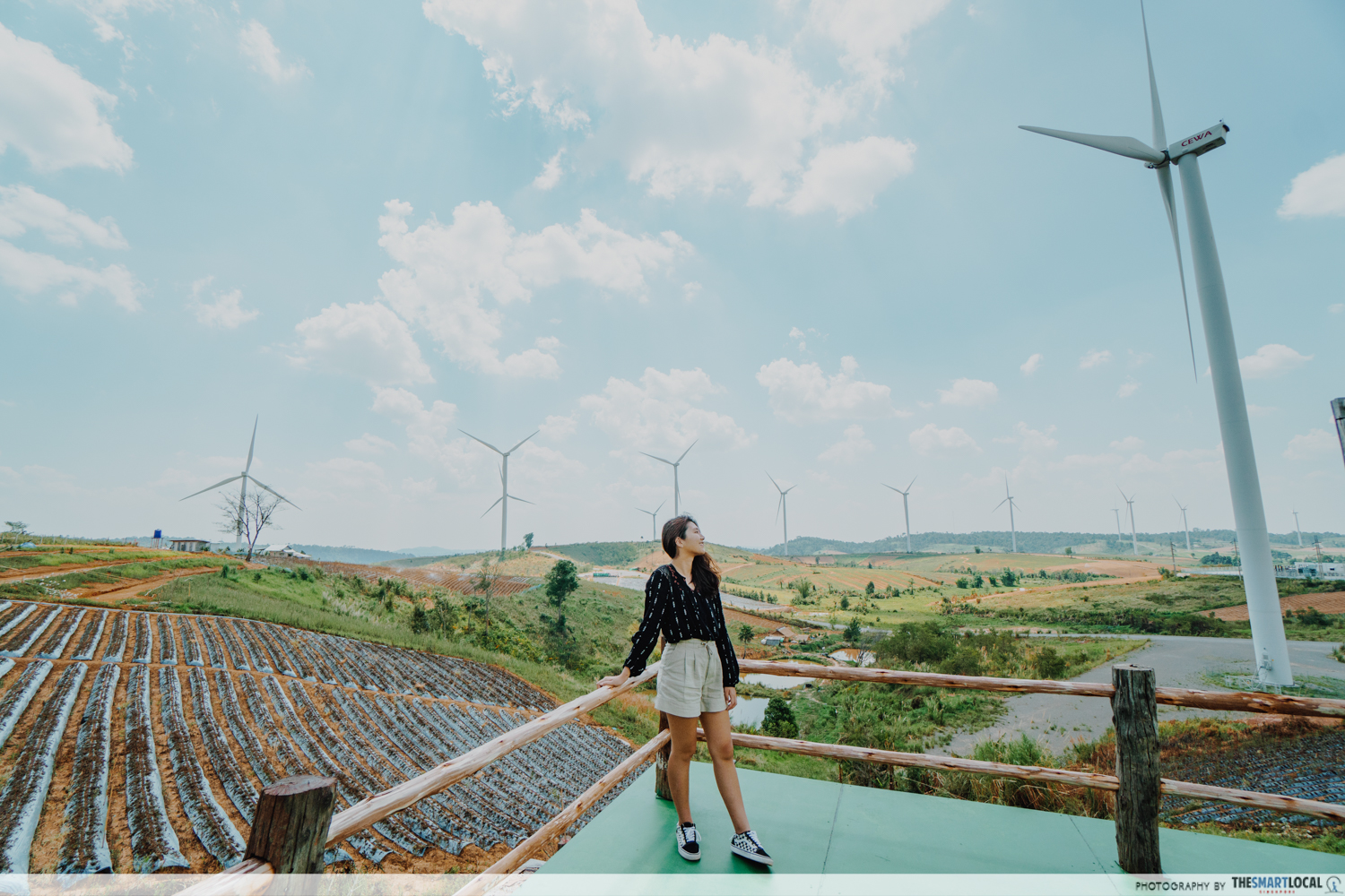 Scenic places in Khao Kho - Khao Kho Windfarm