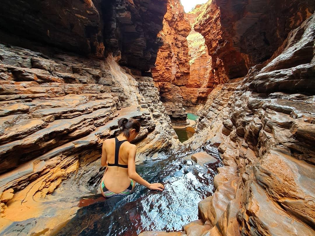 western australia agoda road trip day trip itinerary karijini national park