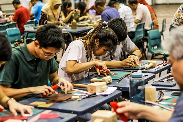 DBS Marina Regatta 2019 - craft workshops