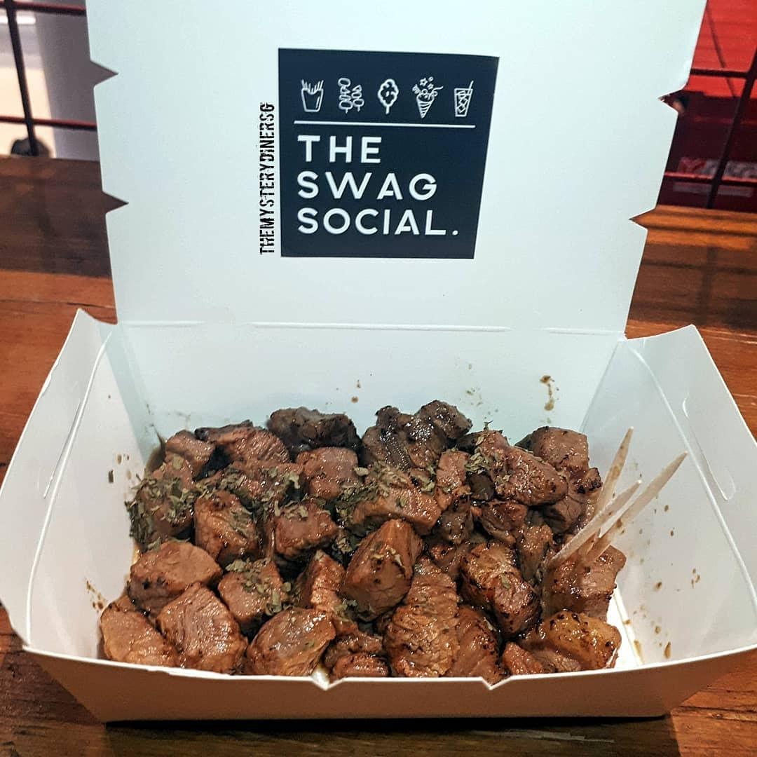DBS Marina Regatta 2019 - beef cubes