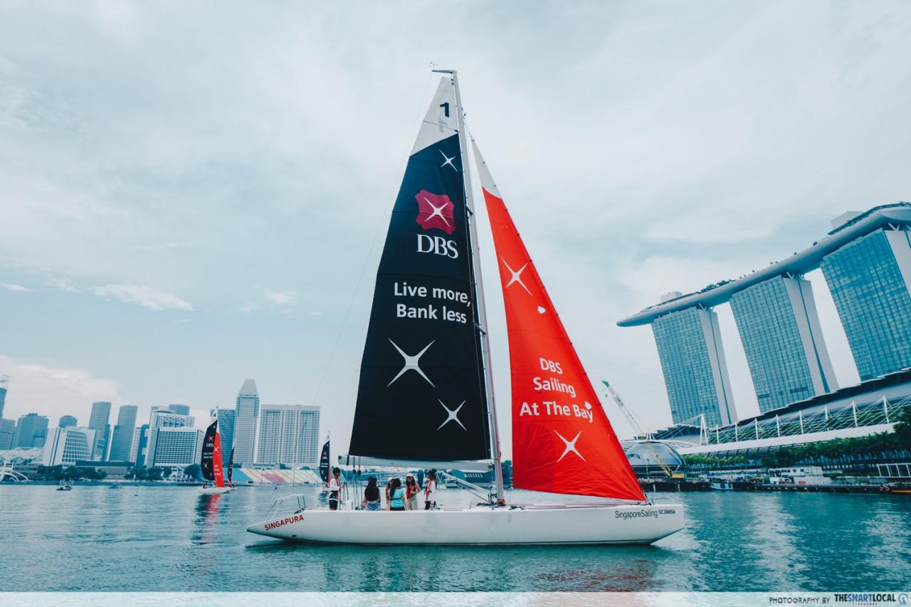 DBS Marina Regatta 2019 - sailing