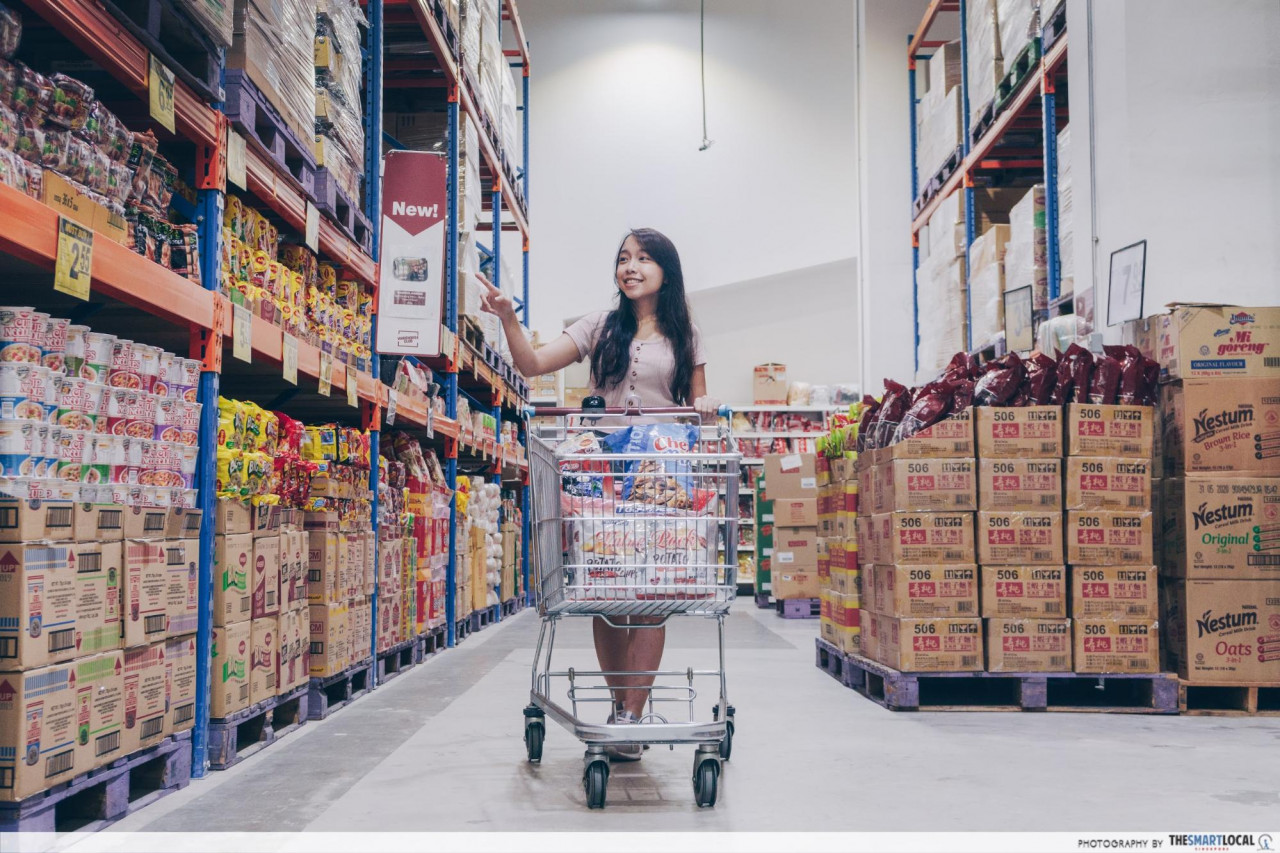 warehouse club ntuc hari raya open house sale