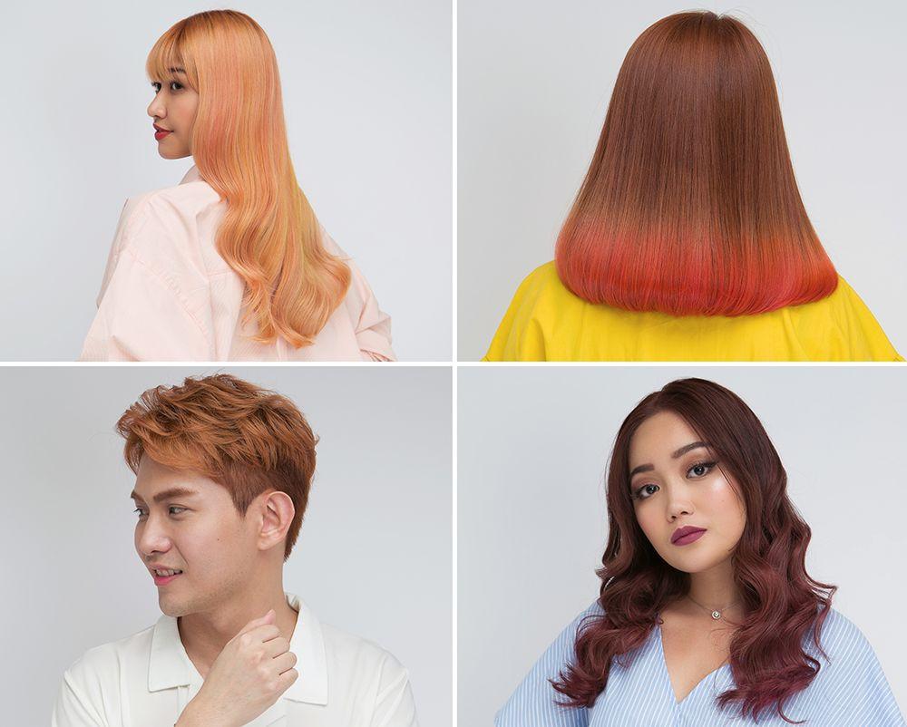 black hair salon singapore coloured hair