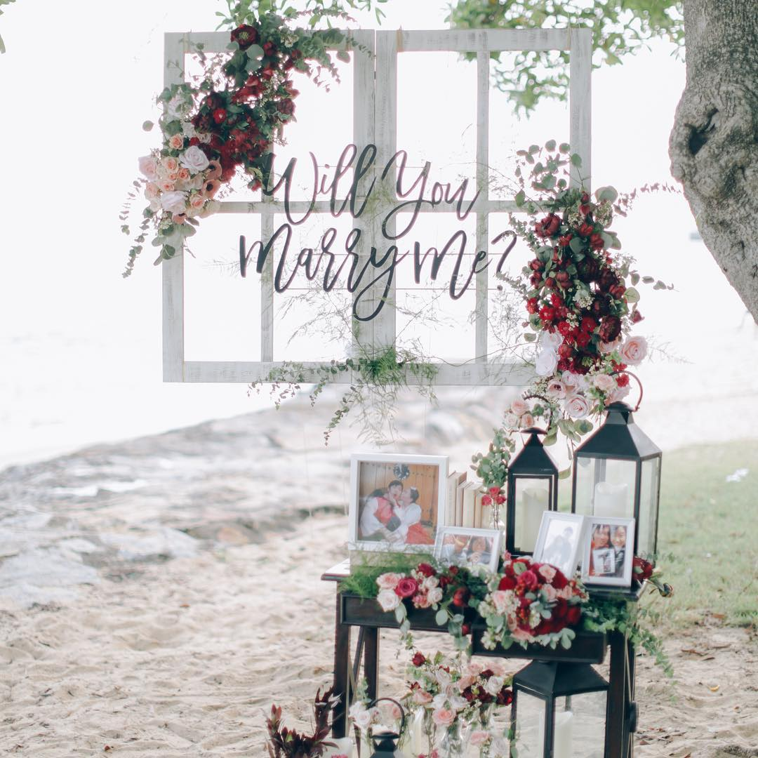 themed proposal setup idea planning service engagement invited picnic set up