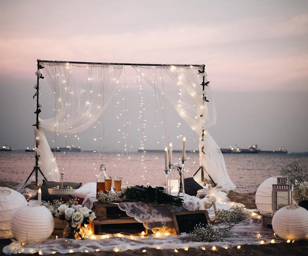 themed proposal setup idea planning service engagement plan b whimsical picnic setup