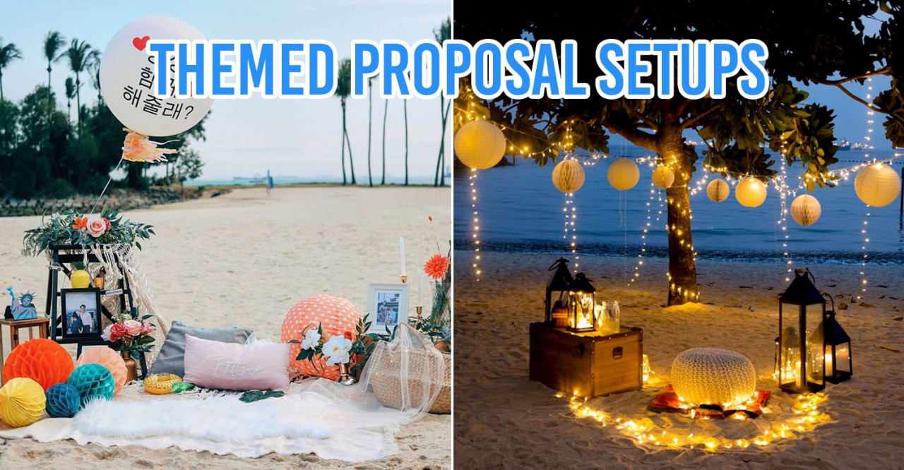 themed proposal setup idea planning service engagement
