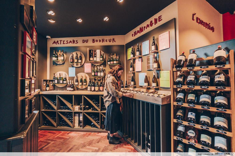 Le Vin Qui Parle - wine shop