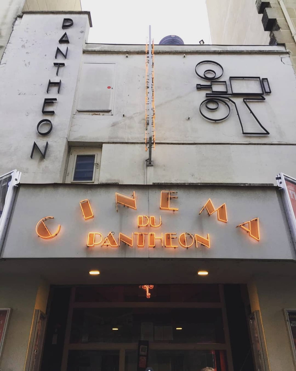 Old arthouse cinema in Paris