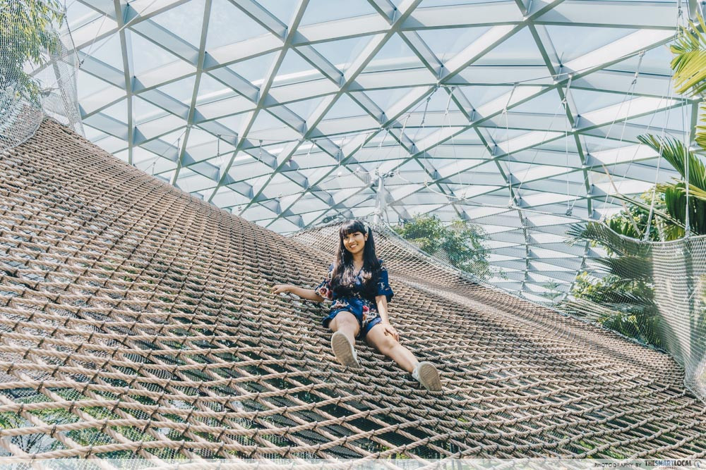 Jewel Changi Walking Nets
