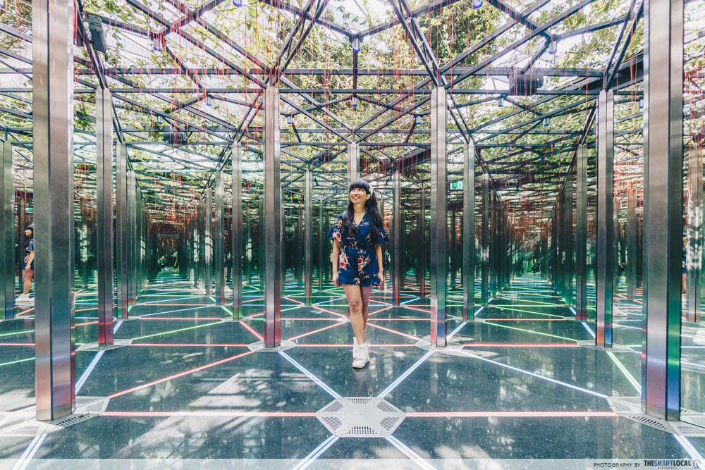 Jewel Changi Mirror Maze