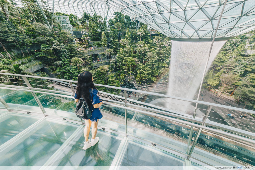 Jewel Changi Canopy Bridge