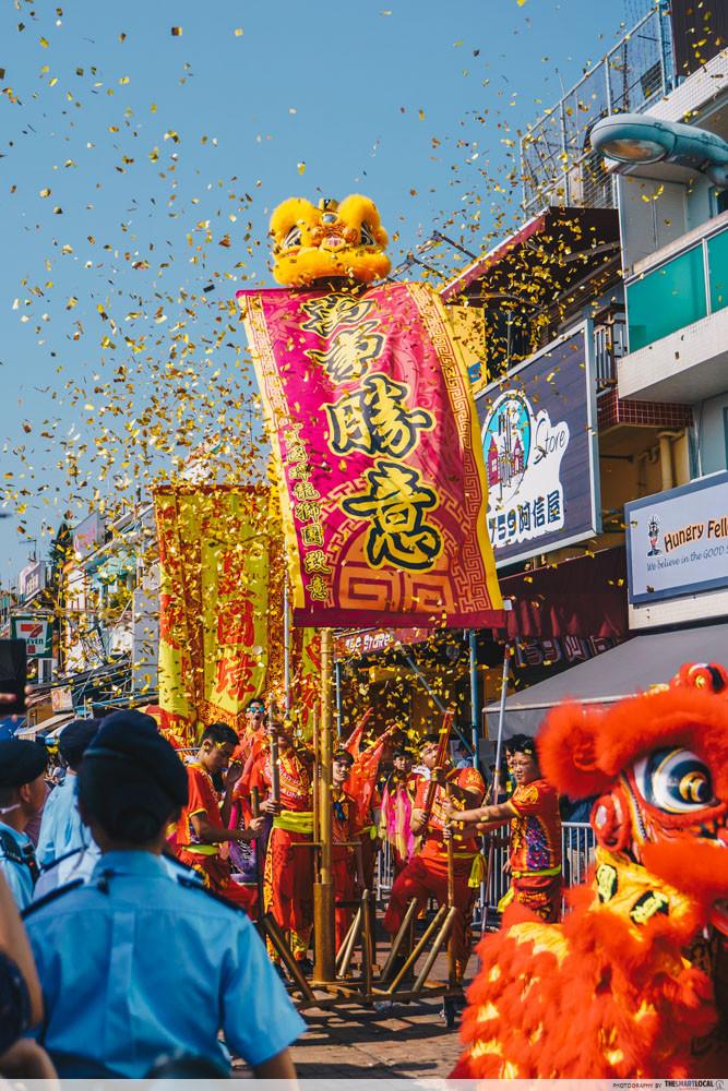 cheung chau bun festival parade