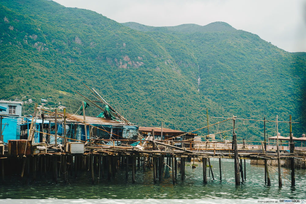 lantau island fishing village