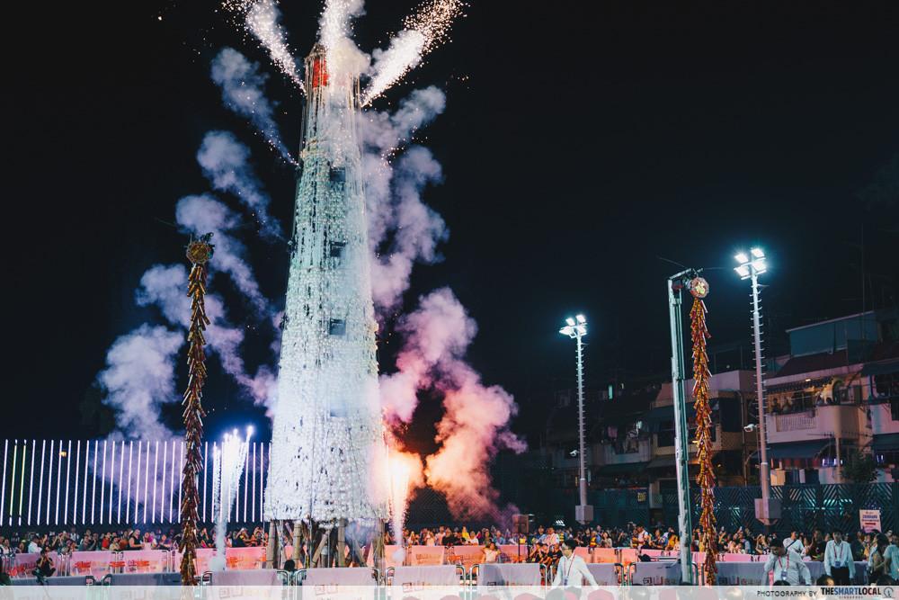 cheung chau bun festival bun tower