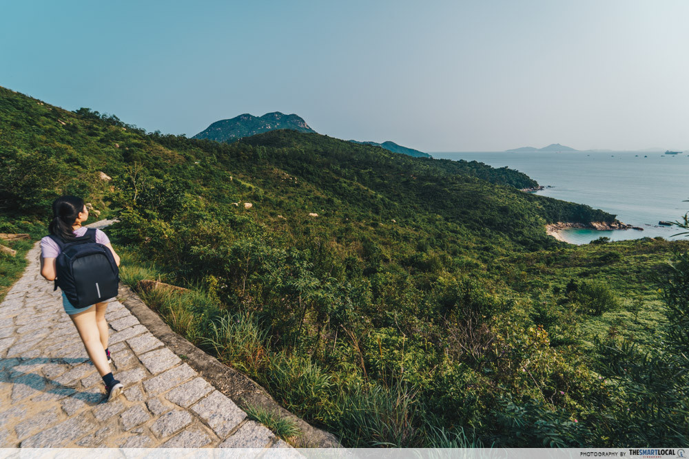 lamma island family trail